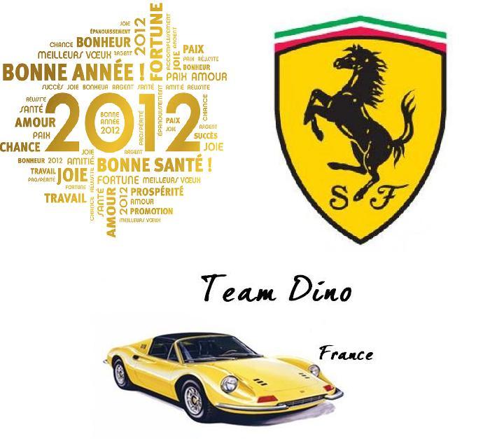 Le TEAM DINO FRANCE vous souhaute une excellente année 2012 !!!!! carte2012